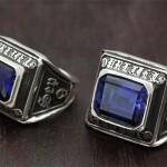 スクエア カレッジリングタイプ 結婚指輪