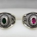 カレッジリングタイプの結婚指輪