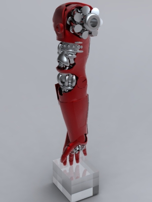 スチームパンク風アイアンマンの画像