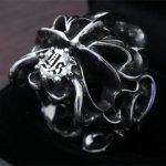 3D出力したスカルの画像